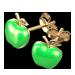 Fée Leprechaun  GreenAppleEarrings.4045