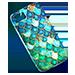 Triton MermanScaleCellPhoneCase.4098