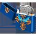 Fée bleutée RoyalBlueVintageLighter.3947